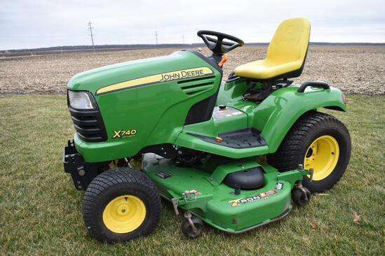 2011 John Deere X740 lawn mower