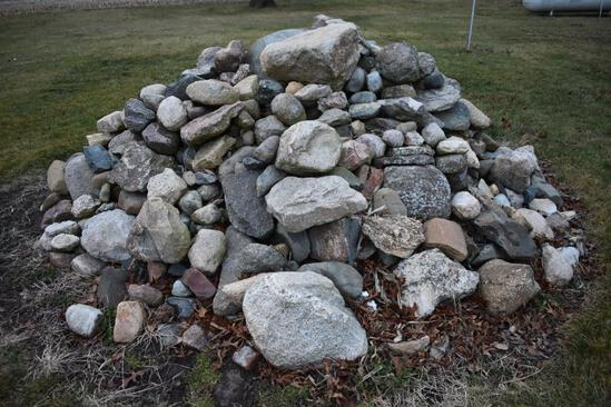 Large pile of rocks