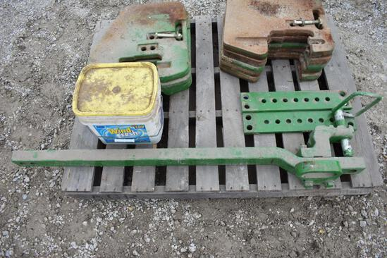 John Deere Cat 3 drawbar for 8R tractor