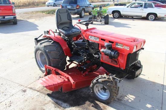 Kubota B7100 HST 4wd Diesel tractor