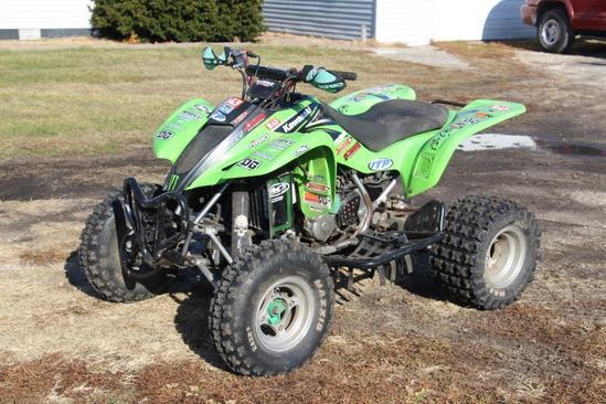 2004 Kawasaki KFX 400 ATV