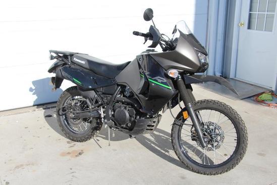 2015 Kawasaki KL650E Enduro motorcycle