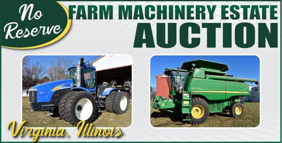 No-Reserve Farm Machinery Estate Auction