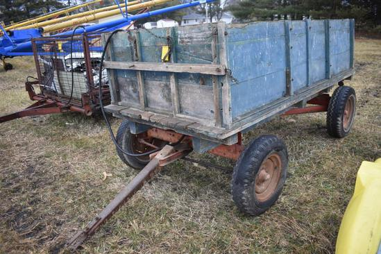10'x5' barge wagon with hoist