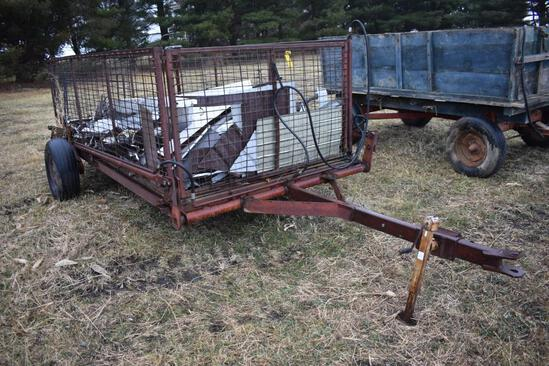 12' hyd. lift hog cart