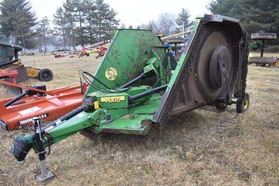 2011 John Deere HX15 15' batwing mower