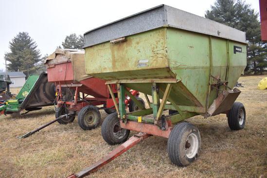 Parker 250 bu. Gravity wagon