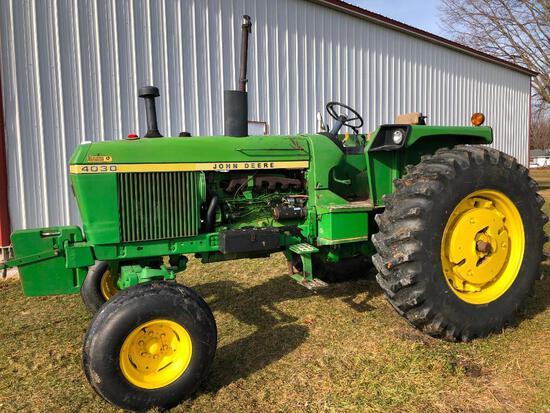 1975 John Deere 4030 2wd tractor