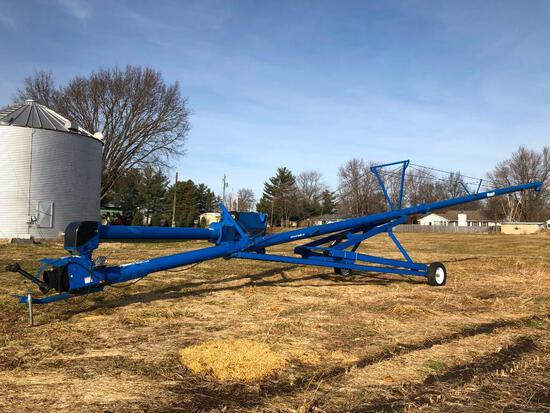 "Brandt 1070 10""x70' swing away auger"
