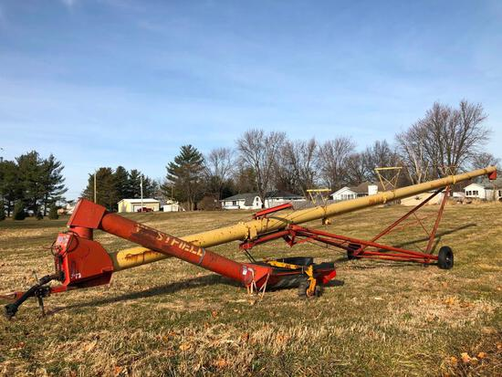 "Westfield MK 130-71 13""x71' swing away auger"