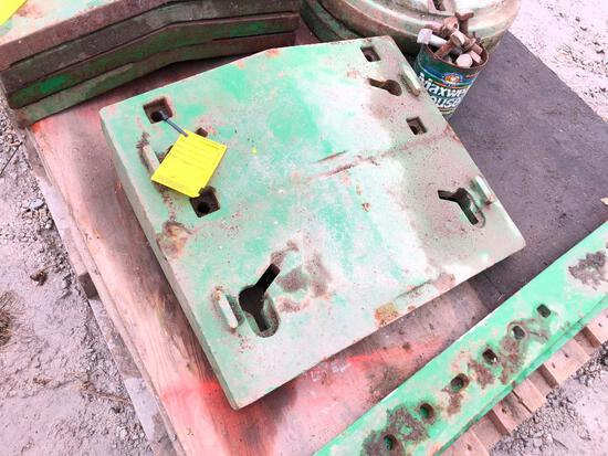 JD large pad weight