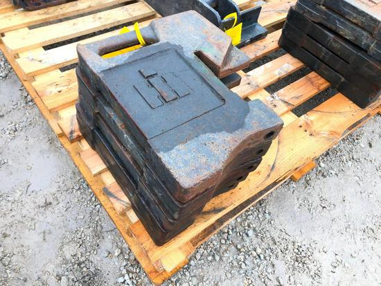 IH suitcase weights x4