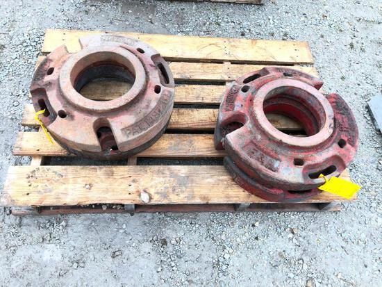 F&H wheel weights x2