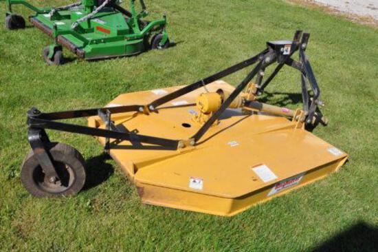 King Kutter 5' 3-pt. rotary mower