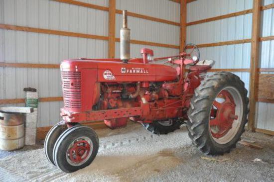 1954 Farmall Super MTA tractor