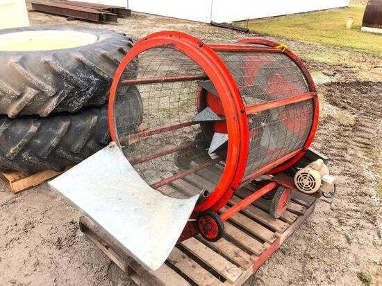 Farm Fans GC140 portable grain cleaner