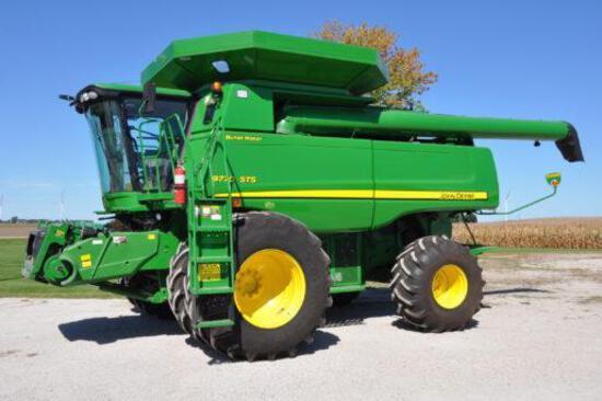 2010 John Deere 9770STS 2wd combine