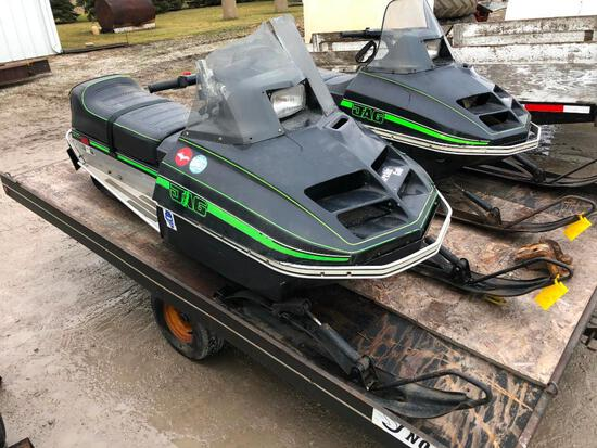 Arctic Cat Jag 3000 snow mobile