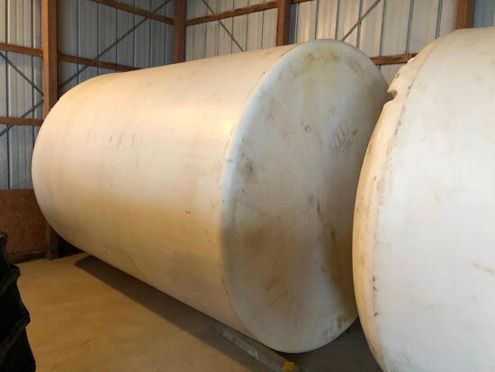 Ace-Roto-Mold 5,000 gal. poly tank