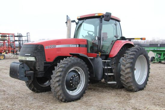 2004 Case IH MX230 MFWD tractor
