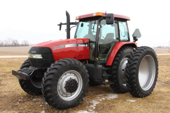 Case IH MCM155 MFWD tractor