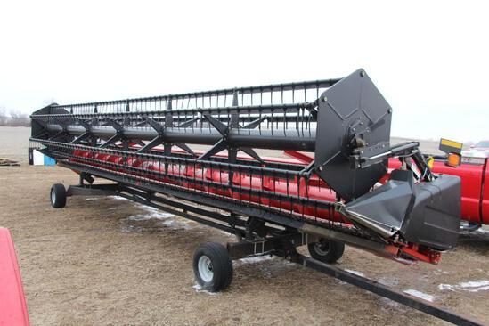 2008 Case IH 1020 30' grain platform