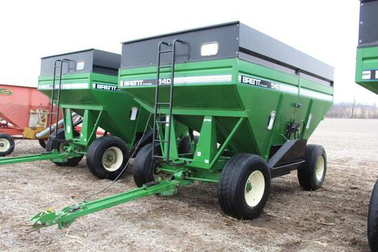 Brent 540 gravity wagon