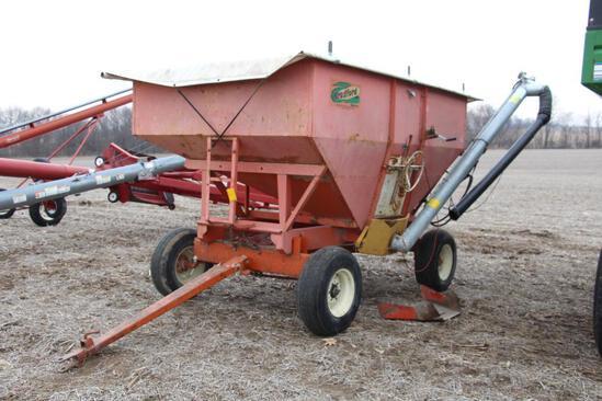 Bradford 250 bu. gravity wagon