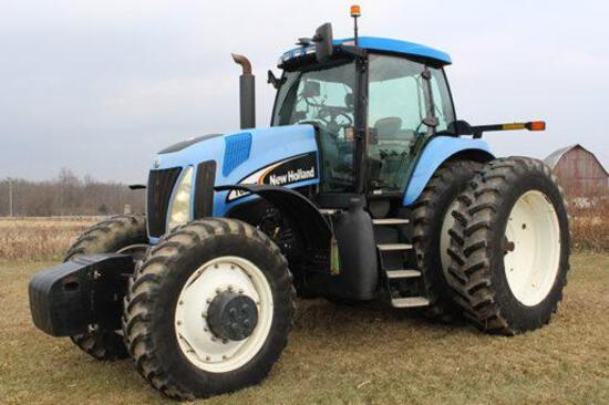 2004 New Holland TG255 MFWD tractor