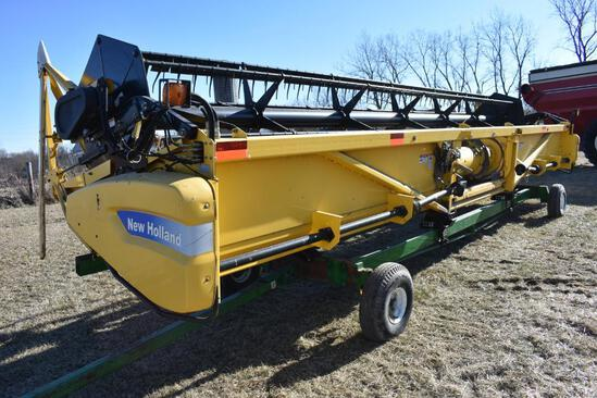 2006 New Holland 74C 30' grain platform