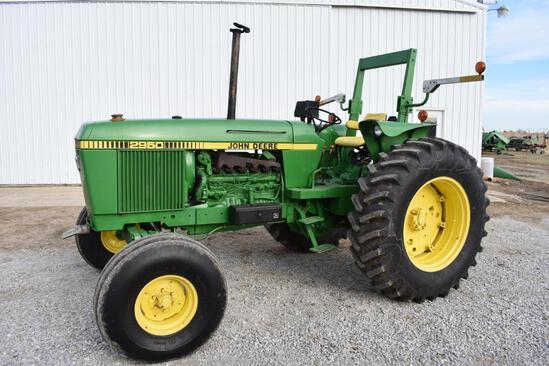 1986 John Deere 2950 2wd tractor