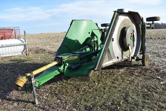 John Deere HX15 15' batwing mower