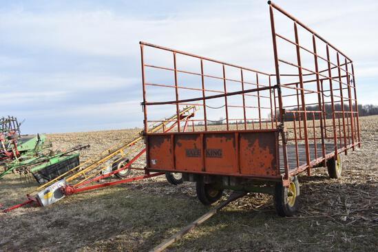 United Farm Tools 18' kicker wagon