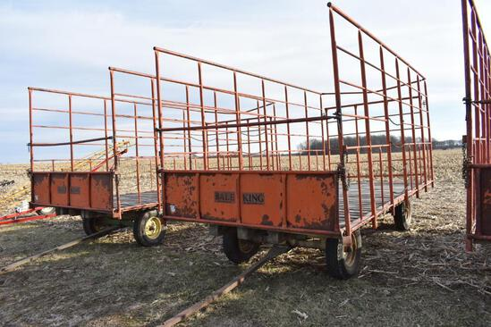 United Farm Tools 18' kicker wagon