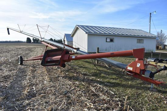 "Mayrath 8""x60' swing-away auger"