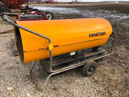 Master B600B 600,000 BTU heater