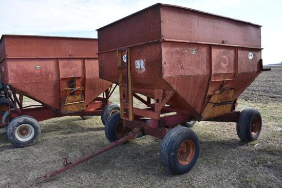 J&M 250 bu. gravity wagon