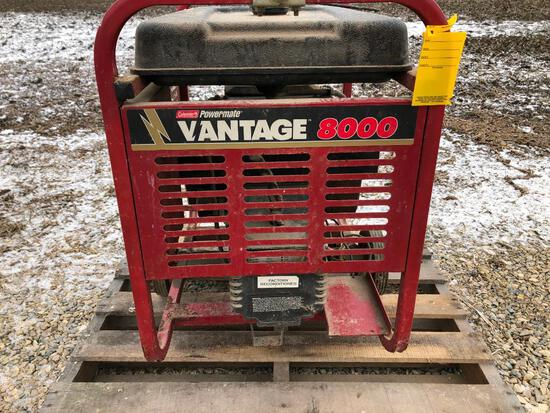 Coleman Powermate Vantage 8000 generator