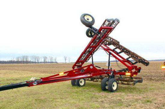 J&M TF215 46' rolling harrow
