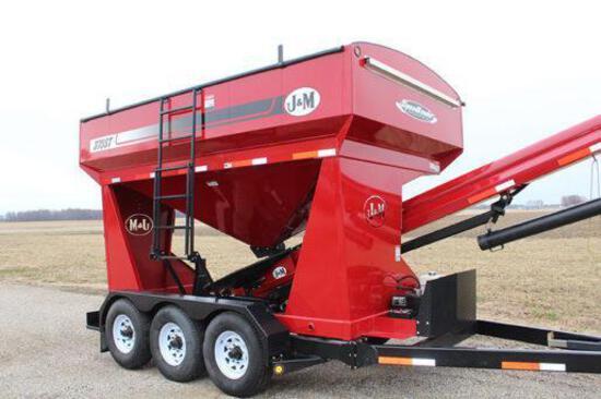 2012 J&M 375ST seed tender
