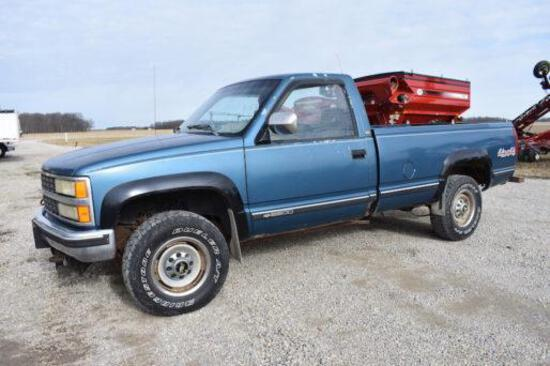 1992 Chevrolet 2500 4wd pickup