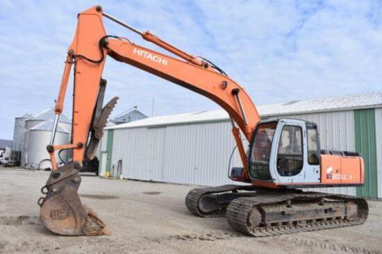 Hitachi EX200LC-5 excavator