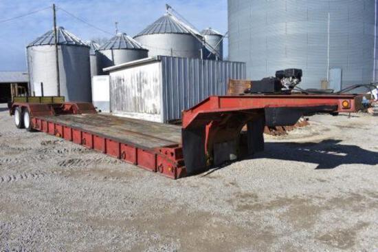 1993 Trail King 35-ton detach lowboy trailer