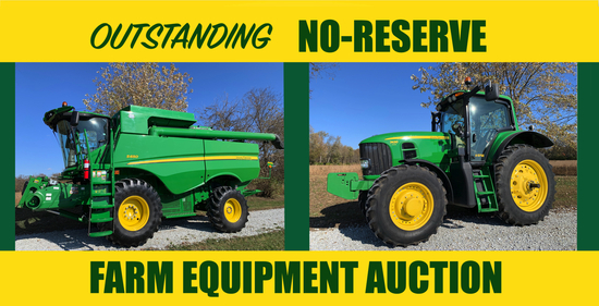 Outstanding No-Reserve Equipment Auction