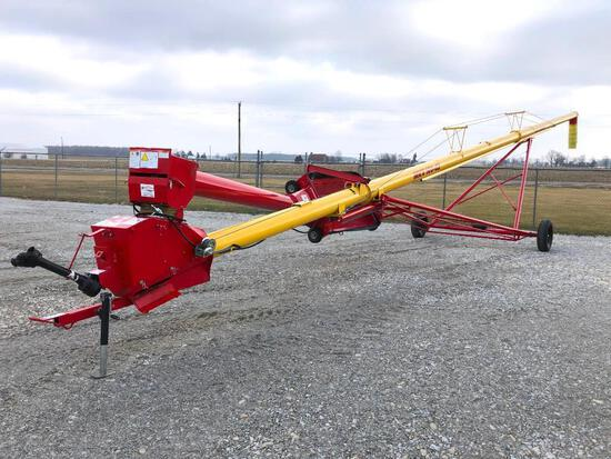 "Westfield MXK100-63 10""x63' swing away auger"