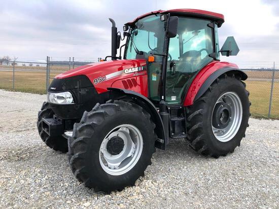 2014 Case IH Farmall 95C MFWD tractor