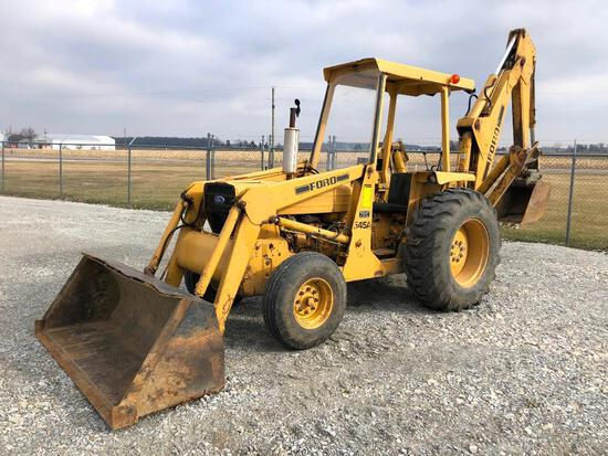 Ford 545A backhoe