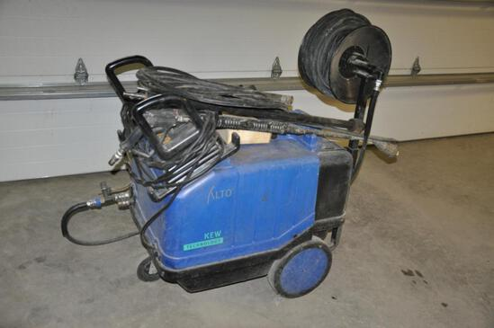 KEW Magnum P460H heated pressure washer