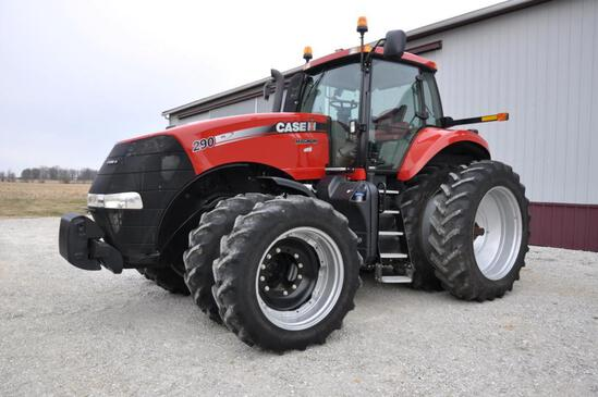 2012 Case IH Magnum 290 MFWD tractor