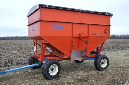 Killbros 385 gravity wagon on Killbros 1280 gear